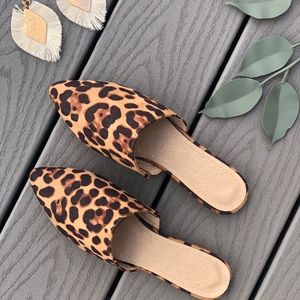 Shoes - SAVANNAH Leopard Print Mules